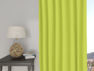 Draperie decorative LONETA - verde